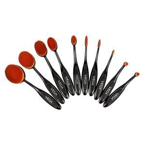 Pro EZ Set of 10 Professional Make-Up Brushes