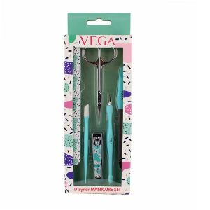 Vega D'zyner Manicure Set (Set of 6 tools)