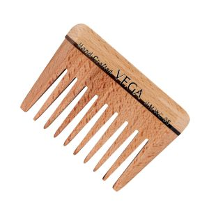 Wide Tooth Wooden Comb - HMWC-05