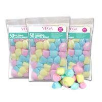 Colorful Cotton Balls