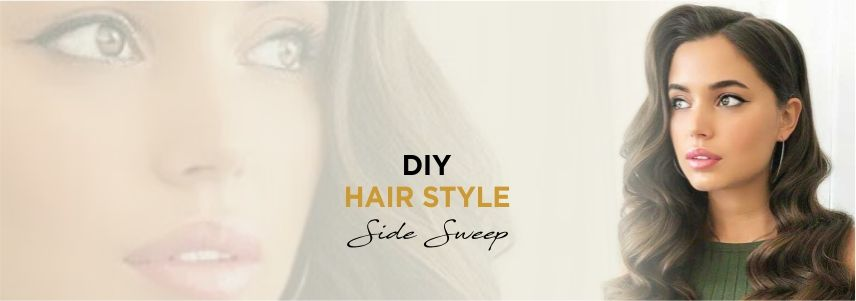 DIY Hairstyle: Classy Side Sweep
