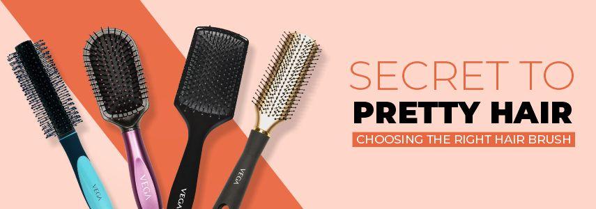 SECRET TO PRETTY HAIR: CHOOSING THE RIGHT HAIR BRUSH