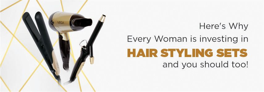 Here's why Every Woman is investing in Hair Styling Sets and You Should Too!