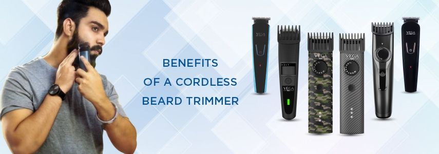 Benefits of A Cordless Beard Trimmer