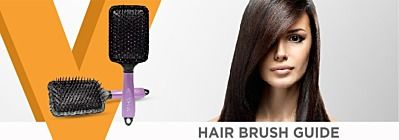 Hair brush guide