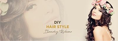 DIY Hairstyle - Beachy waves
