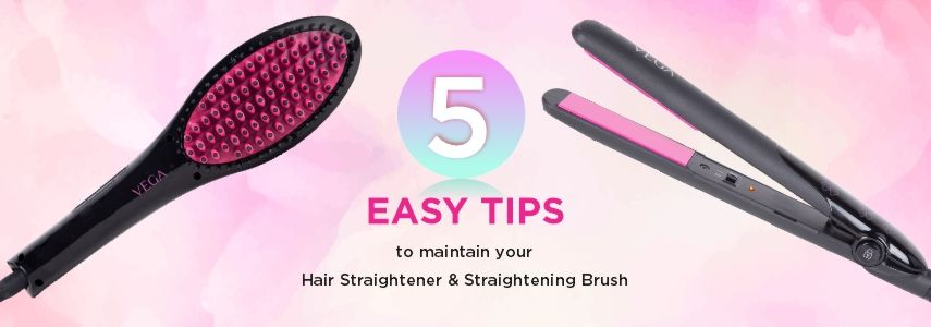 5 Easy Tips on How to Clean a Hair Straightener & Straightening Brush